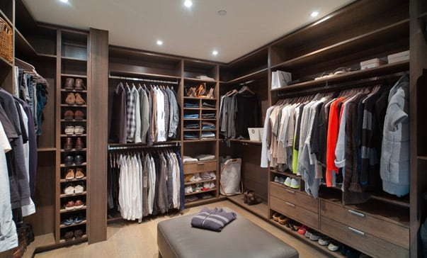 custom closet cabinetry
